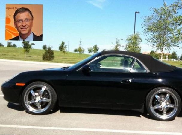 Bill Gates car Net Worth