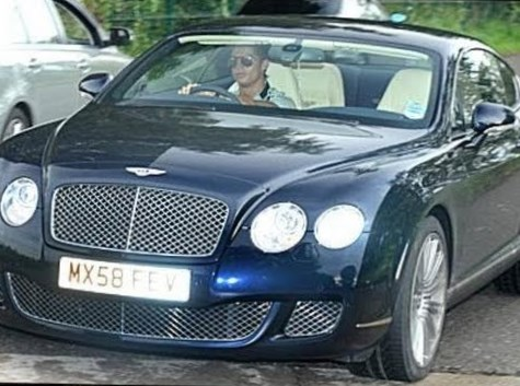 Cristiano Ronaldo Net Worth car