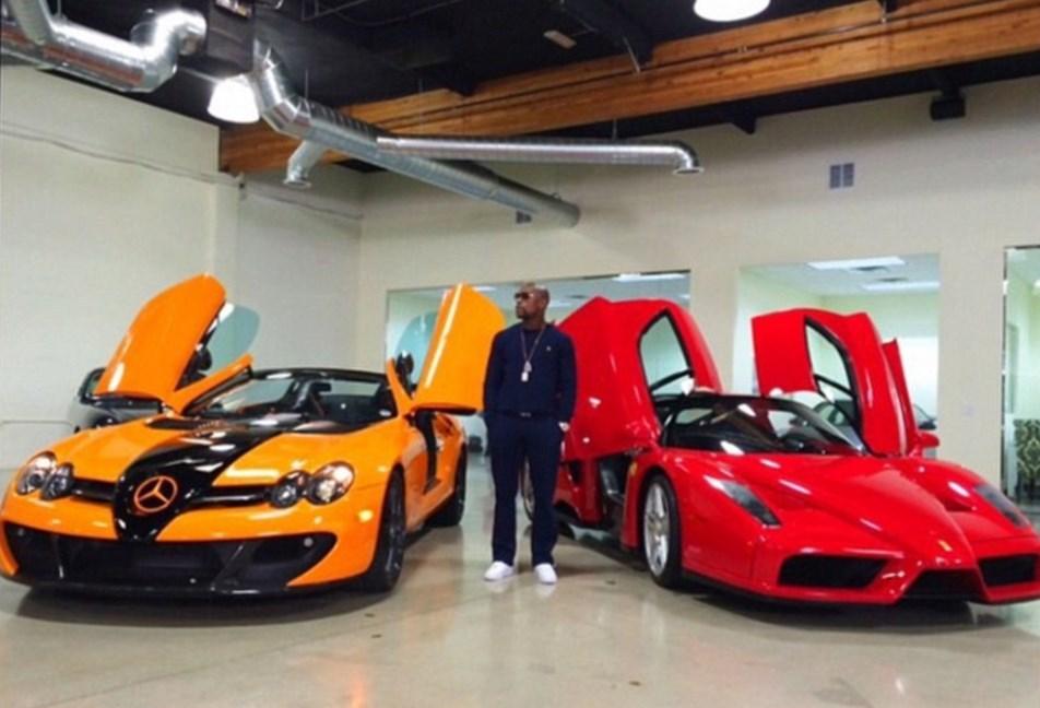 Floyd Mayweather Net Worth car