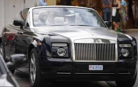 Karl Lagerfeld Net Worth car
