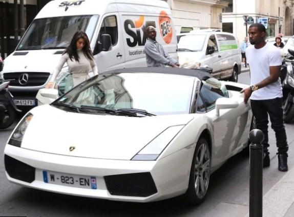 Kim Kardashian Net Worth car