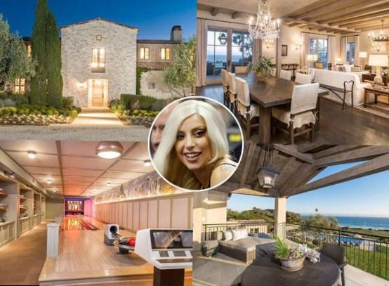Lady Gaga Net Worth house