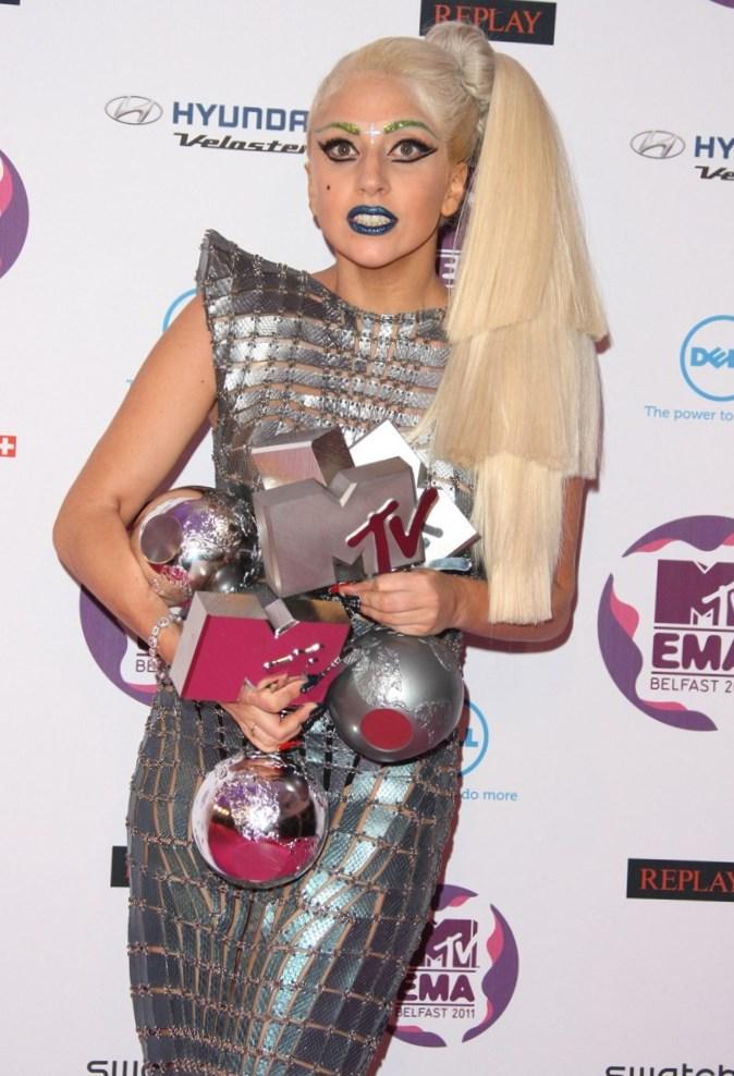 Lady Gaga Net Worth MTV award