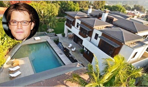 Matt Damon Net Worth House in California