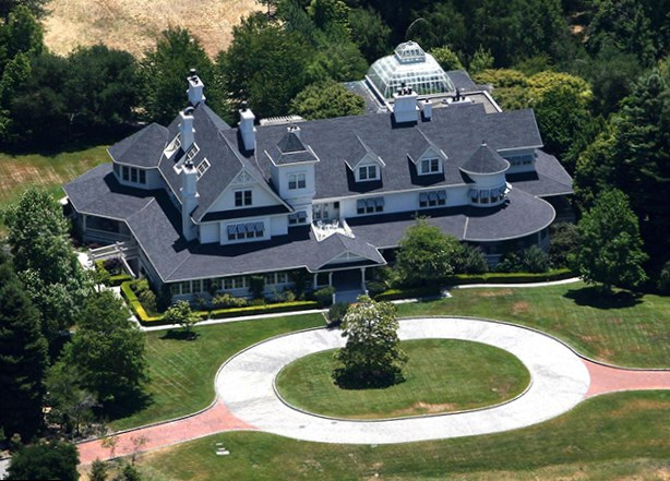 George Lucas house