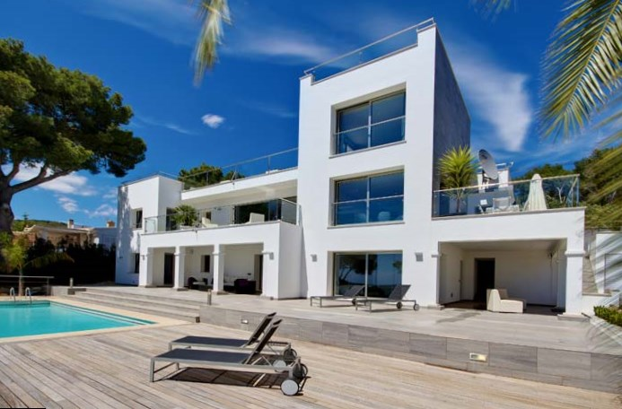 photo: house/residence of kind 80 million earning Palma de Mallorca-resident