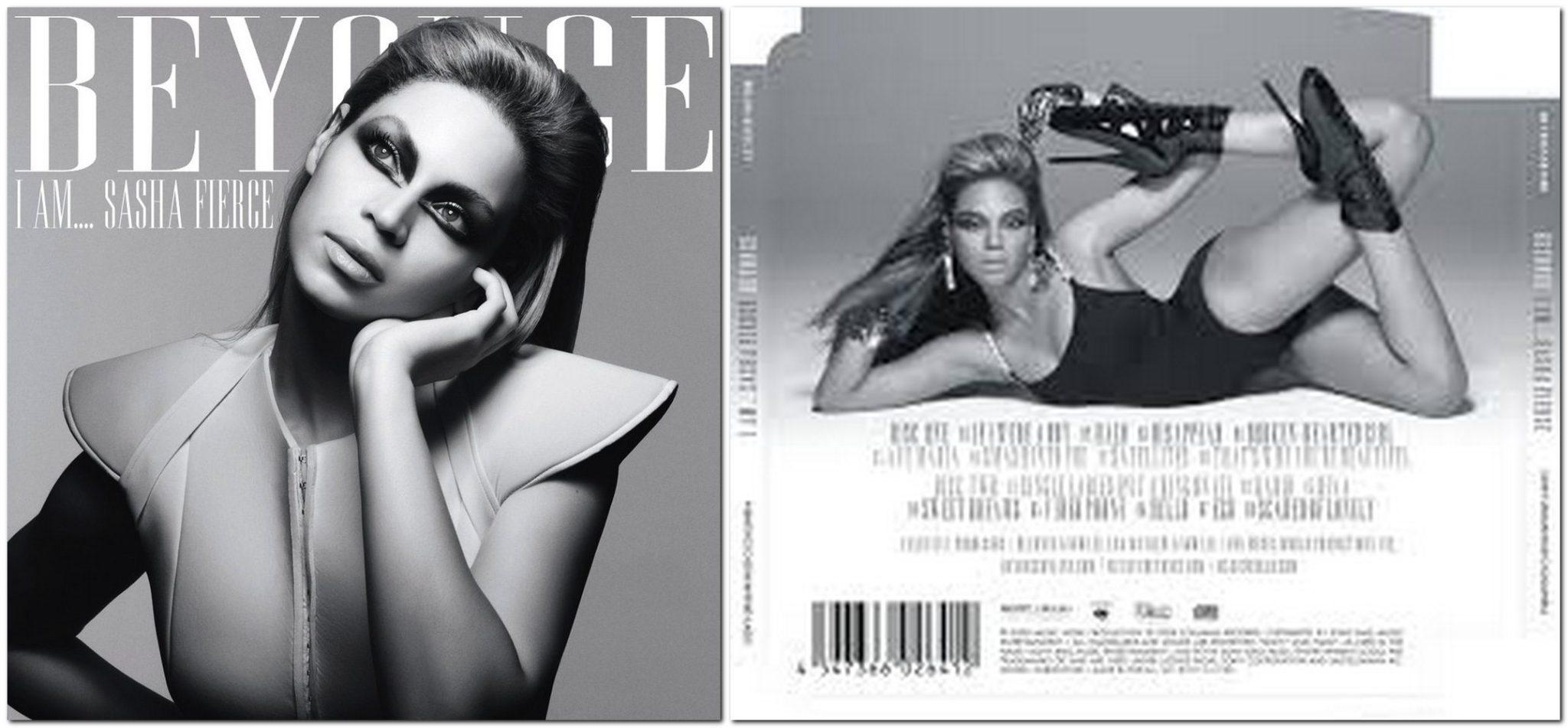 Beyonce. I Am... Sasha Fierce. Album Cover