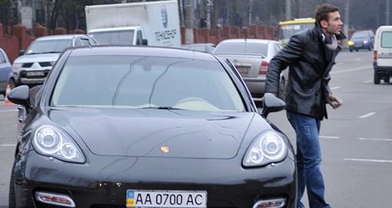Andriy Shevchenko car
