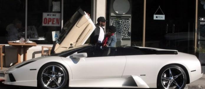 Janet Jackson car