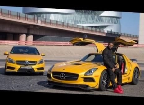 Usher Net Worth car