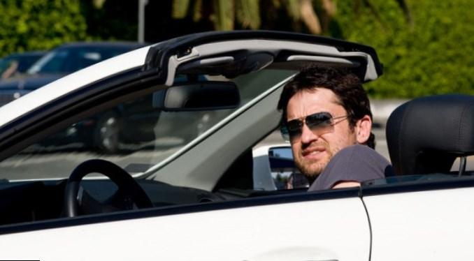 Gerard Butler car