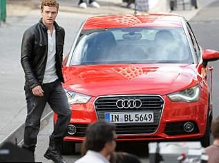 Justin Timberlake car
