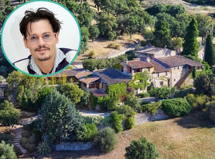 Johnny depp net worth salary house car - Johnny depp france house ...