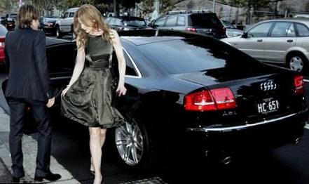 Nicole Kidman cars