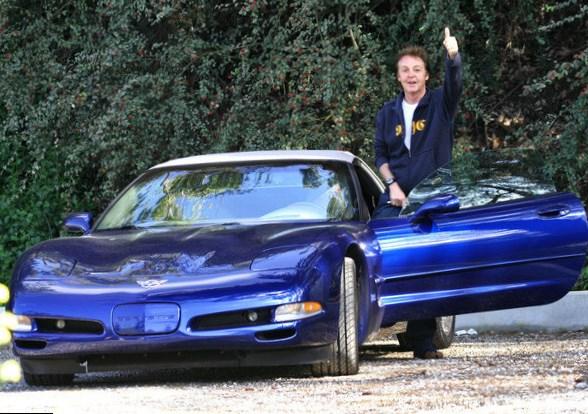 Paul McCartney car