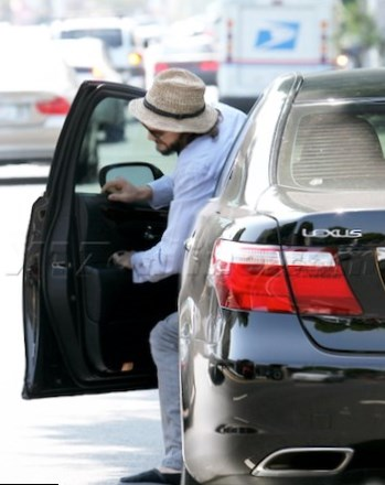 Ashton Kutcher car