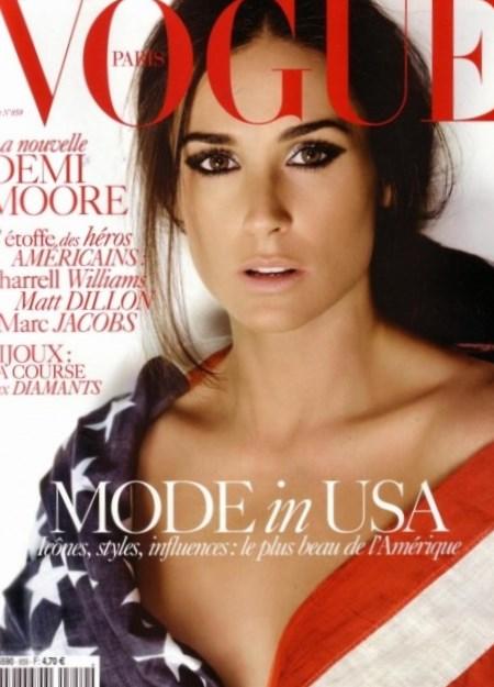 Celebrity Demi Moore n...