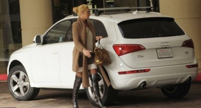Katherine Heigl car