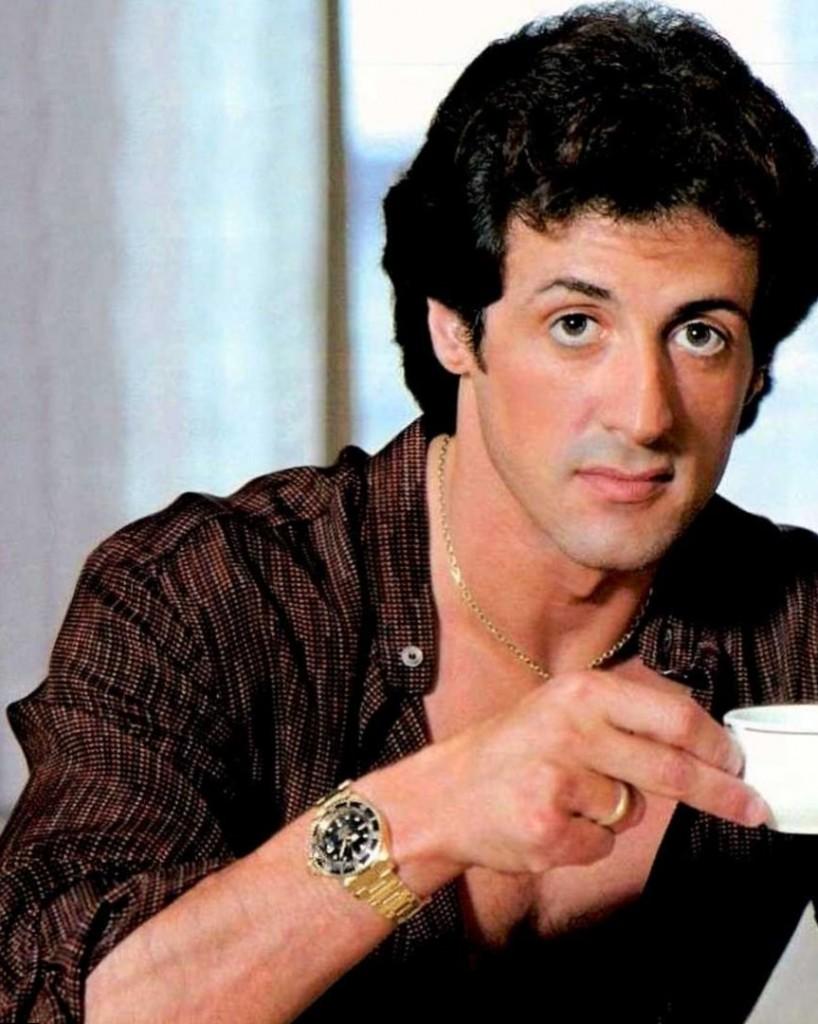 Sylvester Stallone cel...