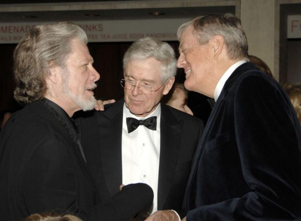 Charles Koch and David Koch Net Worth