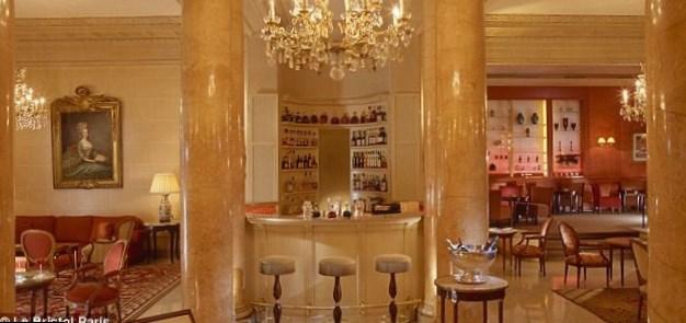 Parisian hotel suite