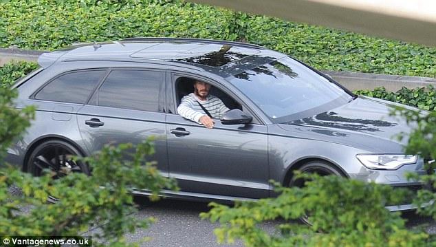 David Beckham car