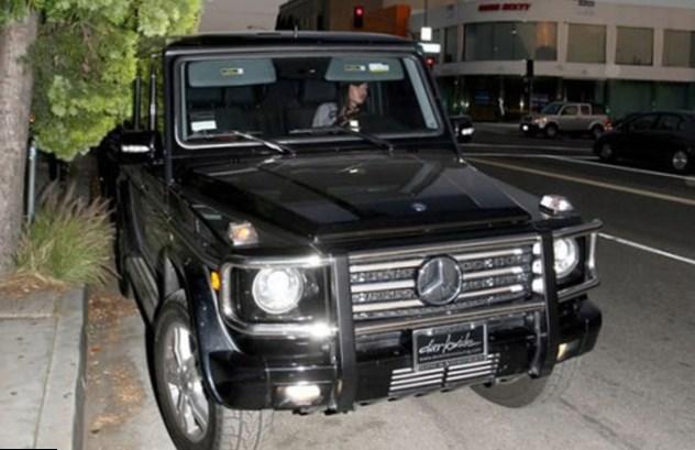 Megan Fox car