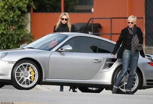 Ellen Degeneres cars