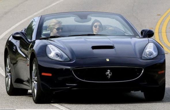 Ellen Degeneres car