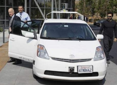 Sergey Brin Car
