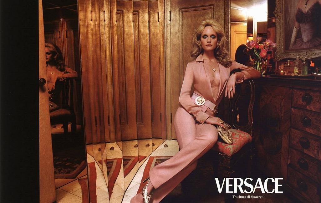 Amber Valletta for Versace
