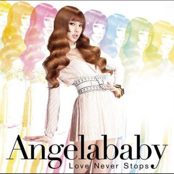 Angela Baby. Love Never Stops. Album Cover