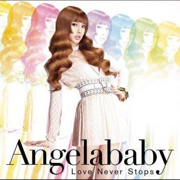 Angela Baby. Love Never Stops. Album Cover
