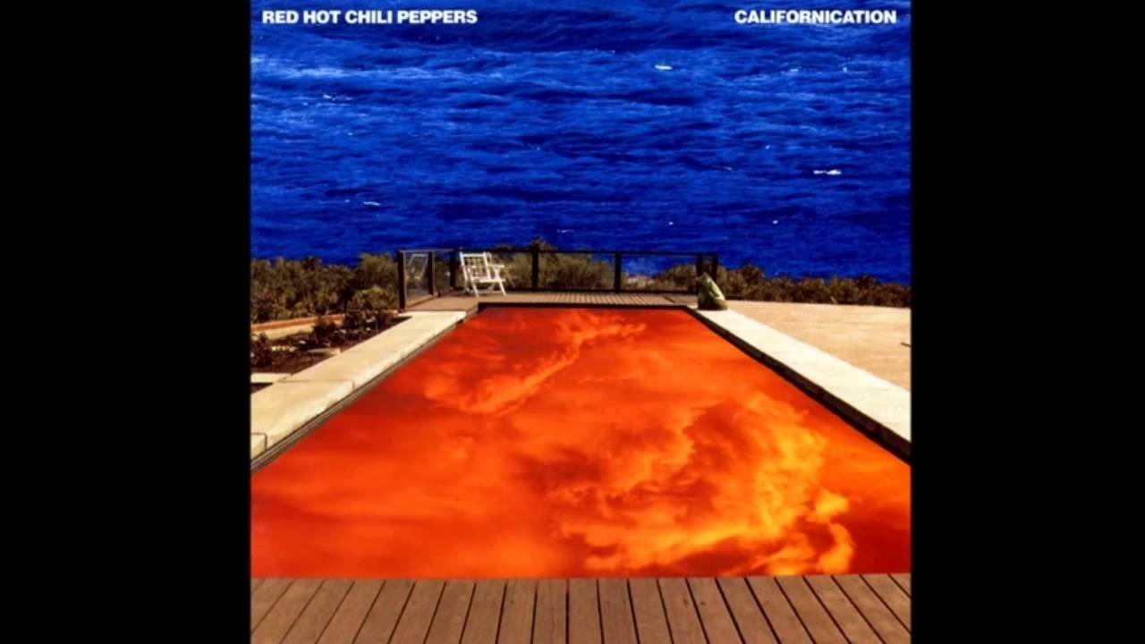 Anthony Kiedis Californication Album Cover