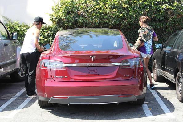 Anthony Kiedis  Tesla Model S