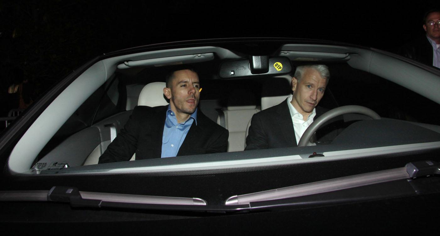 Anderson Cooper. Black Camaro