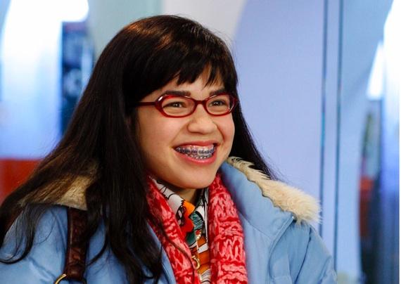 America Ferrera in Ugly Betty
