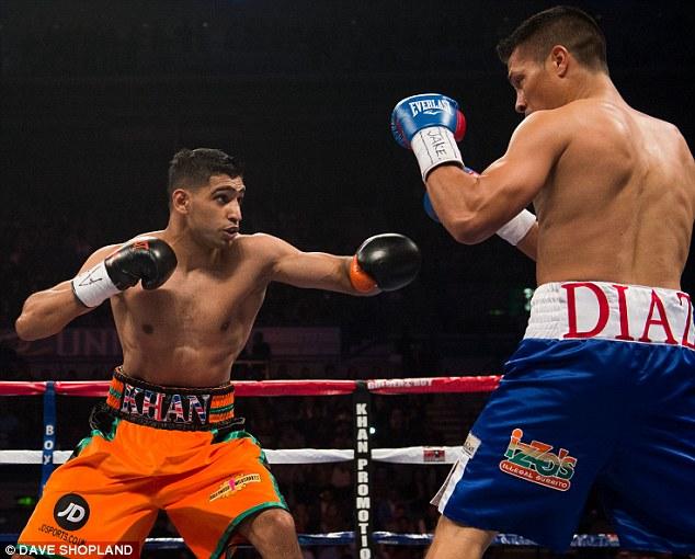 Amir Khan vs Julio Diaz