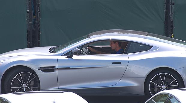 Vanquish, by Aston Martin.