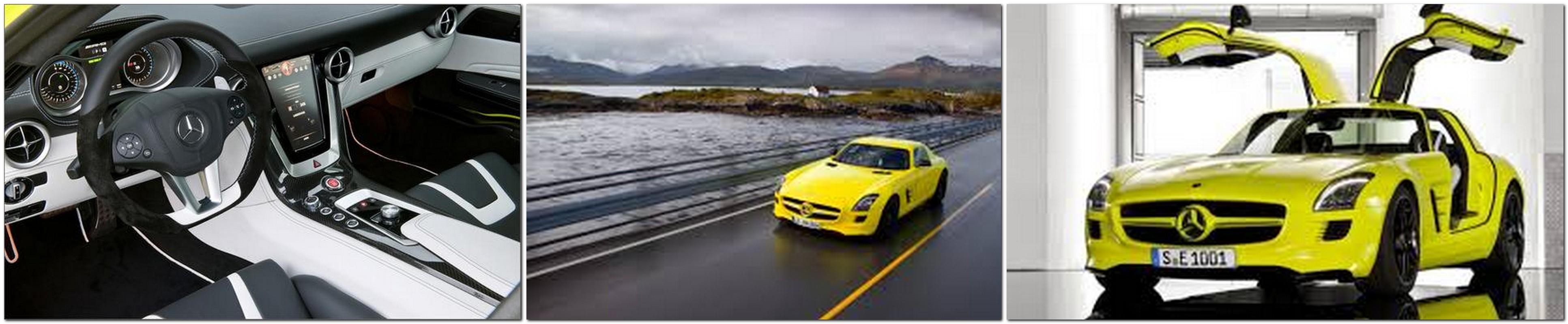 Mercedes-Benz SLS Electric Gullwing E-Cell