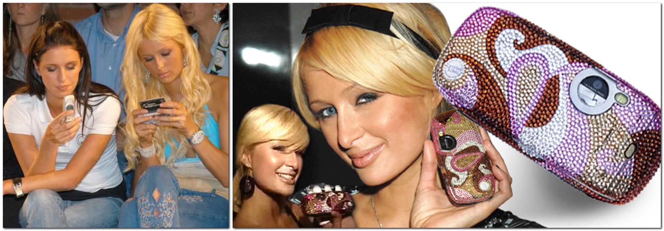 Paris Hilton phone