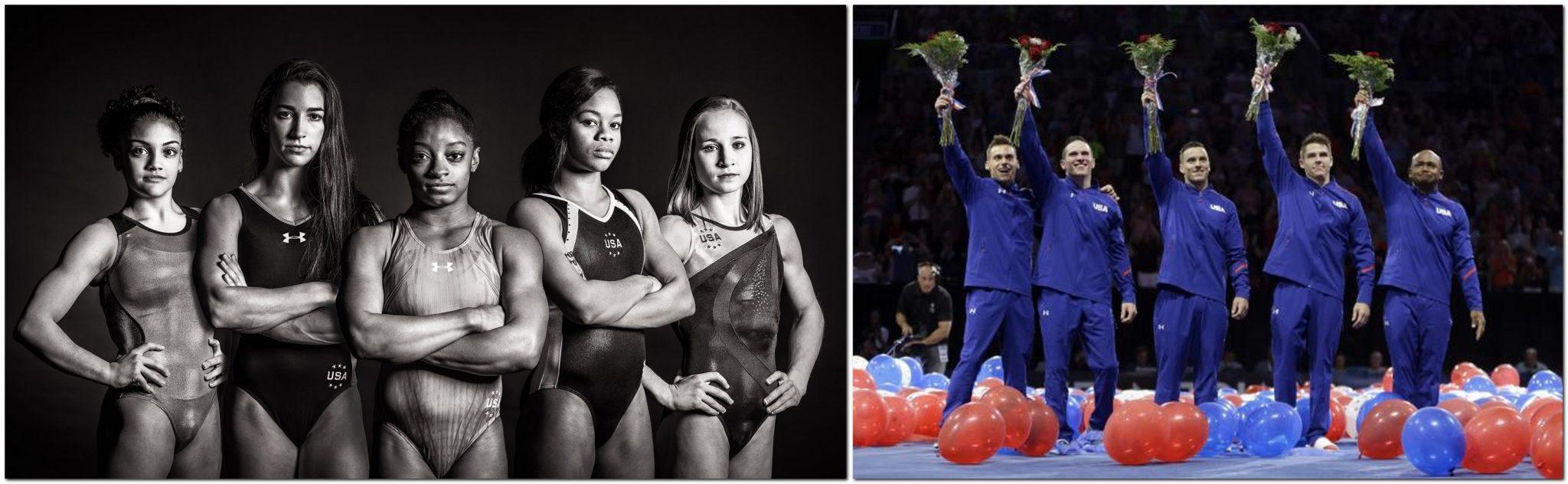 USA Olympic Gimnastic Team