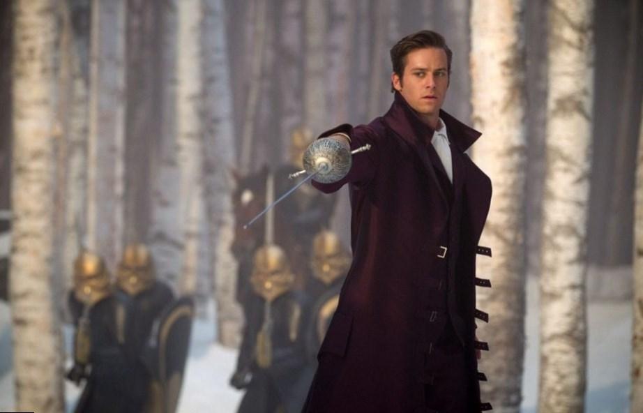 Armie Hammer in Snow White Reboots