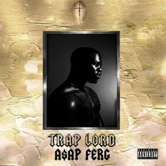 Asap Ferg. Trap Lord. Album Cover