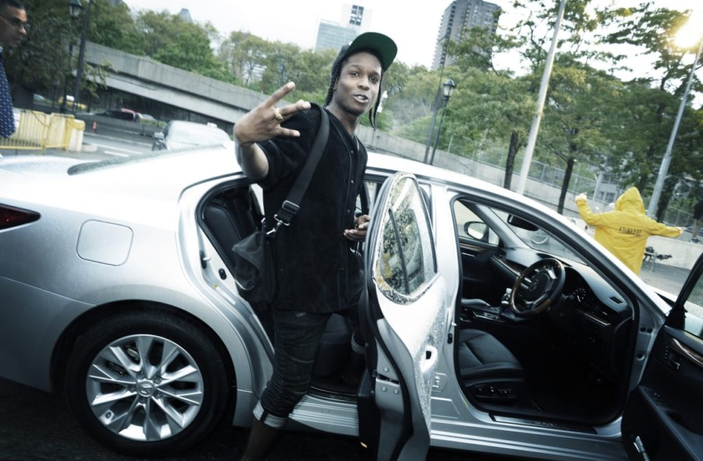 Asap Rocky car
