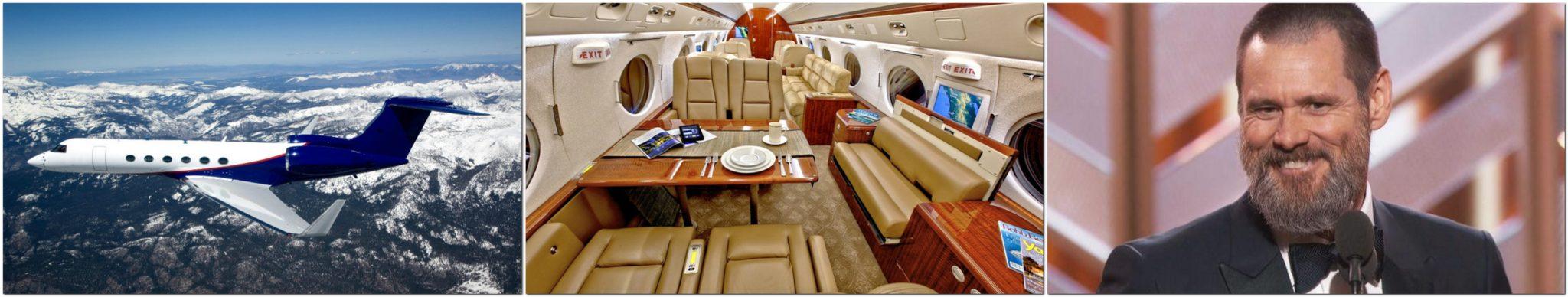 Jim Carrey Gulfstream V