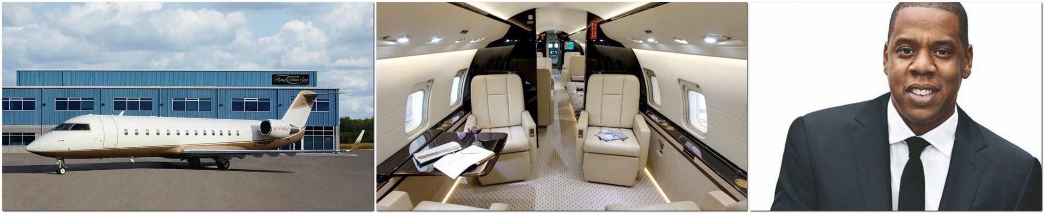 Jay-Z Challenger 850 Learjet