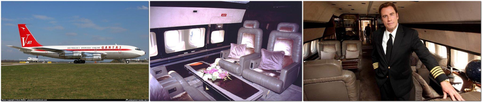 John Travolta, Boeing 707