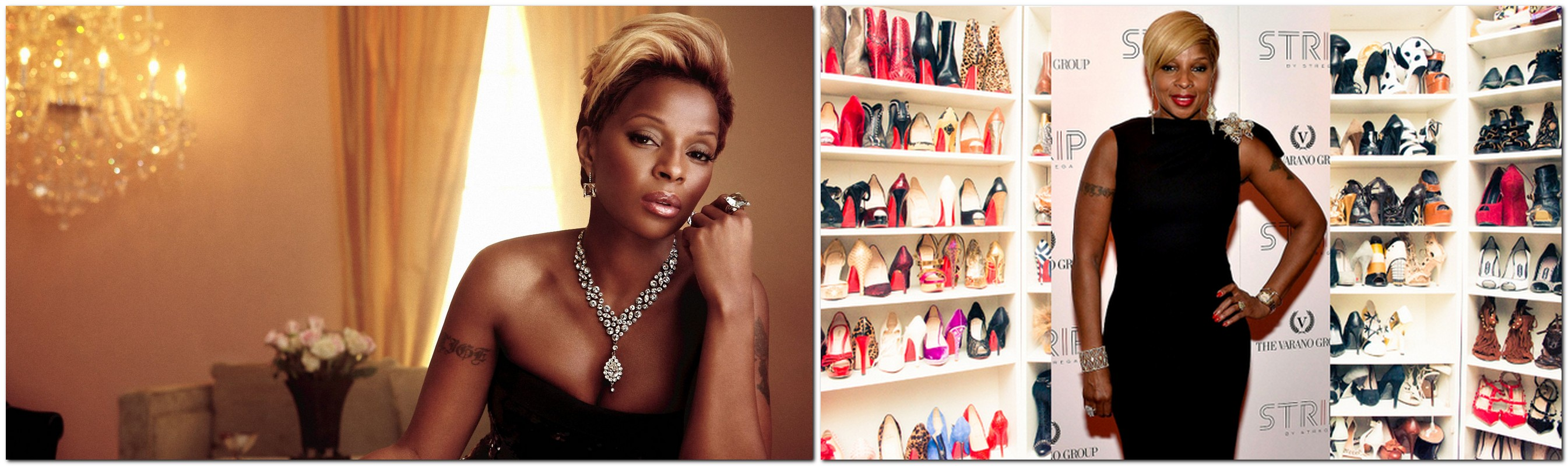 Mary J. Blige — 1000 pairs