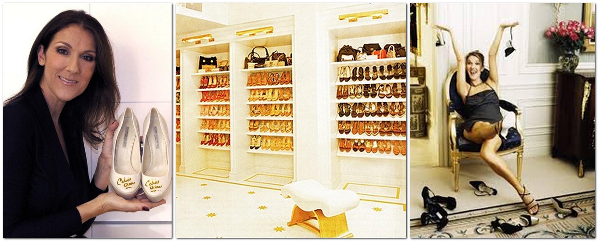Celine Dion has 3000 pairs